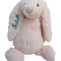 Jelly Cat - Personalized Pink Bashful Bunny