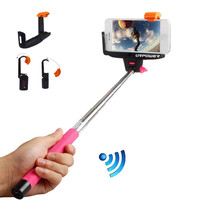 The Selfie Stick FULL KIT in Pink (w/ Bluetooth)