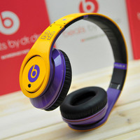Monster Beats by Dr. Dre headphone headset,Dj studio ,24 kobe yellow