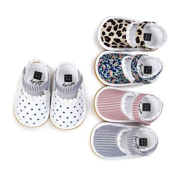 First Walkers Baby Girl Soft Sole Summer Sandal