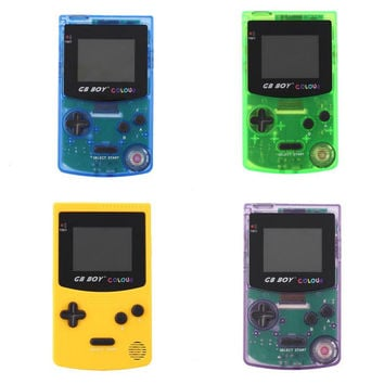 """Original For GB Boy Classic Color Handheld Game Console 2.7"""" Game Player with Backlit 188 Built-in Games Perfect Christmas Gift"""