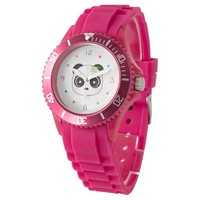 Cute and colorful panda face watch