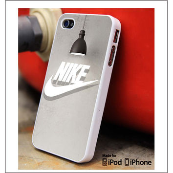 Nike White Shadow iPhone 4s iPhone 5 iPhone 5s iPhone 6 case, Galaxy S3 Galaxy S4 Galaxy S5 Note 3 Note 4 case, iPod 4 5 Case