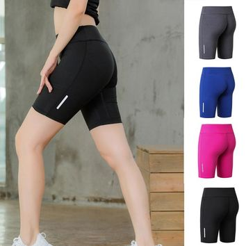 Women Gym Shorts Sport Fitness Tennis Shorts Young Girls Athletic Shorts Cool Ladies Breathable Sport Running Jogging Clothes