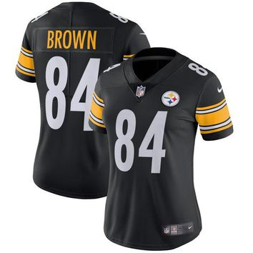Women's Pittsburgh Steelers Antonio Brown Nike Black Vapor Untouchable Limited Player Jersey