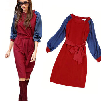 A-Line Tunics Casual Victoria Beckham Dress