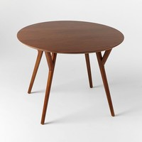 Mid-Century Round Dining Table