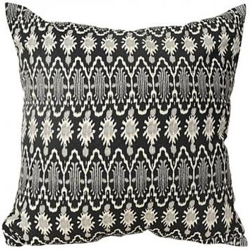 Tribal Ikat Pillow - Ikat Throw Pillows - Ikat Pillows - Toss Pillows - Sofa Pillows - Decorative Throw Pillows - Accent Pillows | HomeDecorators.com