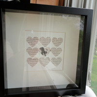 Quidditch Shadowbox Made From Real Harry Potter Book by authorish