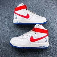 Nike Air Force 1 High Sheed 'Rude Awakening' White/Red Sneaker