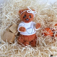 Bear toy crochet animals soft toy valentine gift Crochet toy teddy bear toy for kids toy for girl