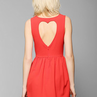 Coincidence & Chance Heart-Back Cutout Dress - Urban Outfitters