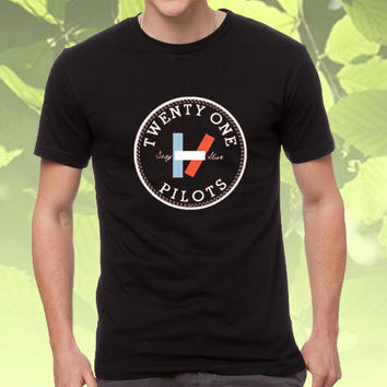 twenty one pilots black T-shirt for unisex adult