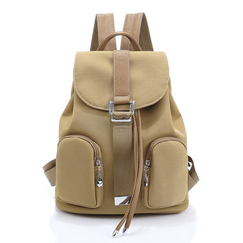 On Sale Comfort Hot Deal Back To School College Korean Style Design Travel Casual Stylish Backpack [6304976644]