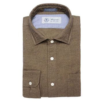 Canclini Luxe Flannel in Olive