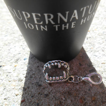 Supernatural/Vampire Diaries Vampire Teeth Charm