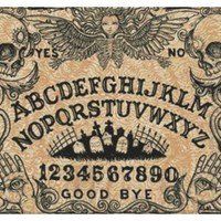 'Ouija Board' By Shayne Skull Cross Stitch Kit