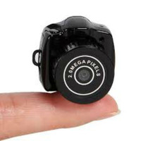2.0MP Pixels Spy Mini Camcorder Hidden Camera Black