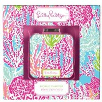 Lilly Pulitzer Mobile iPhone 4 4S Cell Phone Battery Charger Let's Cha Cha iTouch iPod Nano