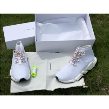 Balenciaga 2.0 White Sock Shoe