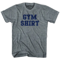 Gym Shirt T-shirt, Athletic Grey