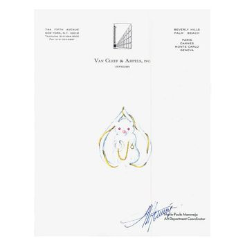 Mouse Couture Sketch by Van Cleef & Arpels, Inc.