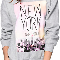 Glamour Kills E State NYC Crew Neck Sweatshirt