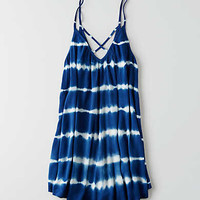 AEO TIE-DYE SHIFT DRESS