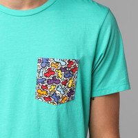 Urban Outfitters - Junk Food Keith Haring Pocket Tee
