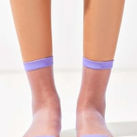 Out From Under Monofilament Crew Sock - Urban Outfitters