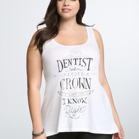 Dentist Racerback Tank Top