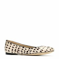 Leiah Exotic Leather Ballet Flats