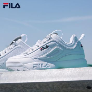 FILA Running Sport Casual Shoes Sneakers White G-XYXY-FTQ