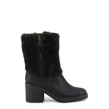 Guess Women's Leather Ankle Boots Black