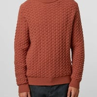 LTD Roadtrip Rust Turtle Neck Sweater - That 70s Look - Clothing