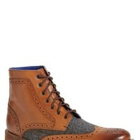 Men's Ted Baker London 'Sealls' Wingtip