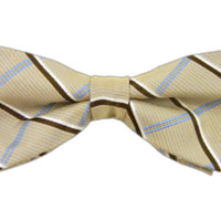 Pastel Linen Plaid - Khaki (Linen Bow Ties) | Ties, Bow Ties, and Pocket Squares | The Tie Bar