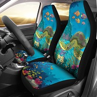 Sea Turtle Car Seat Cover