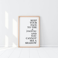Motivational Poster Inspirational Art Downloadable Prints Printable Quotes Office Wall Art Coastal Wall Decor Coastal Decor Farmhouse Decor