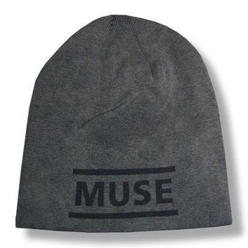 Muse Black Logo Faded Beanie