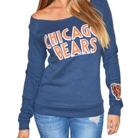 Chicago Bears Off Shoulder Womens Sweatshirt | SportyThreads.com