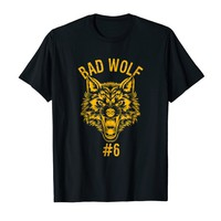Bad Wolf Number 6 Group Halloween Costume T-shirt