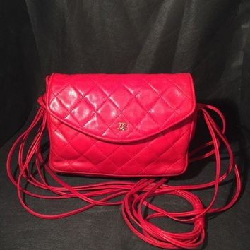 GTOW Vintage Red Chanel Bag