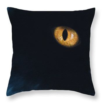 "A Couple Black Color Throw Pillow for Sale by Kathleen Wong - 14"" x 14"""