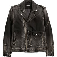 H&M Denim Biker Jacket $69.99