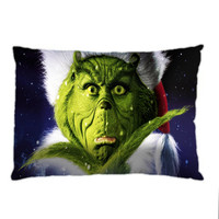 The Grinch Christmas Pillow Case. Choose the option for size