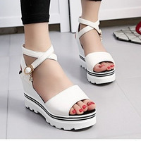 Summer  women sandals with platform sandals