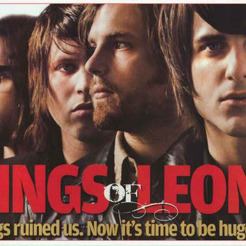 Kings of Leon Drugs Ruined Us Poster 24x34