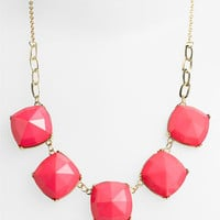 Stephan & Co. Facet Statement Necklace | Nordstrom