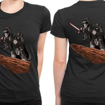 The Lion King Star Wars Version 2 Sided Womens T Shirt